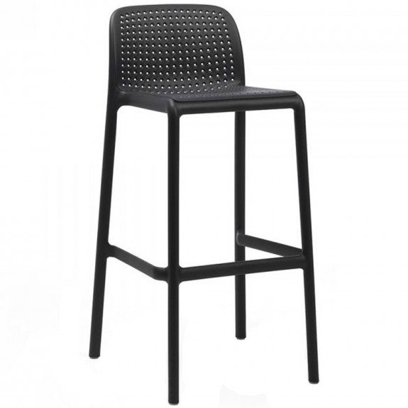 Gia Outdoor High Stool Stackable