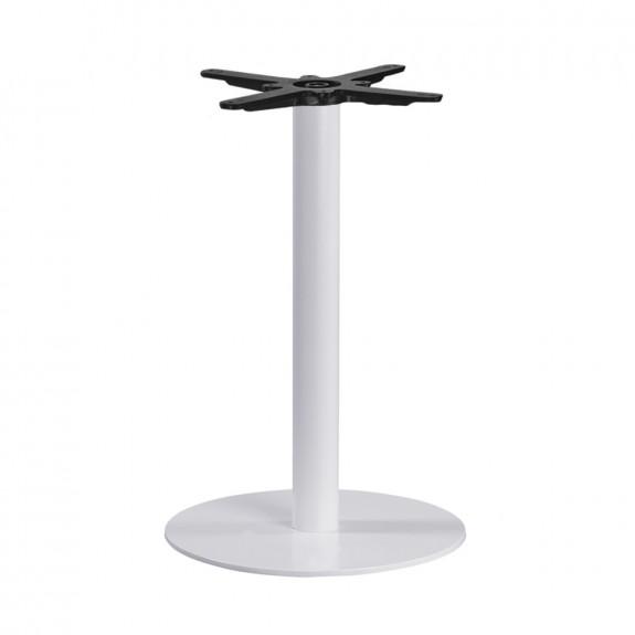 Olea Round White Table Base