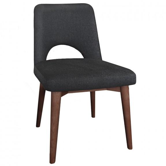 Scandi Side Chair Walnut Legs