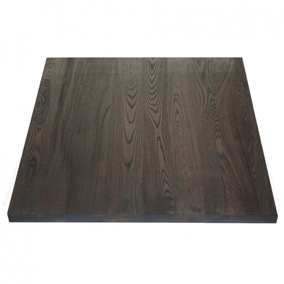 Solid Wood Table Top Square Rustic Timber Style