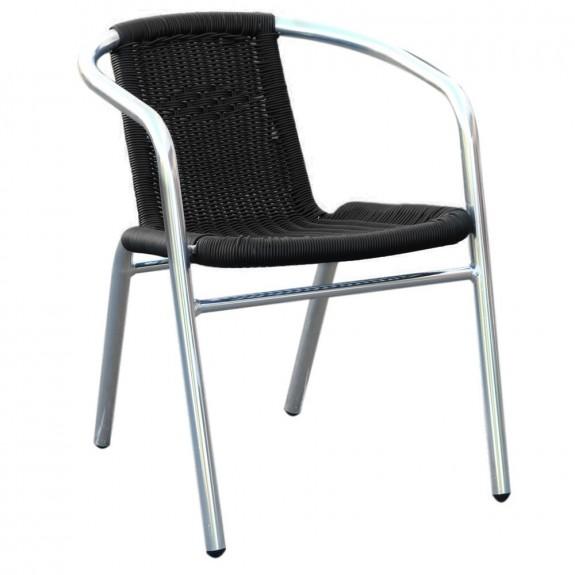 Tora Aluminium Wicker Outdoor Arm Chair