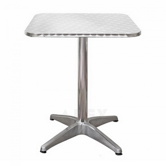 Aria Inox Square Stainless Steel Outdoor Table Top 60 X 60cm