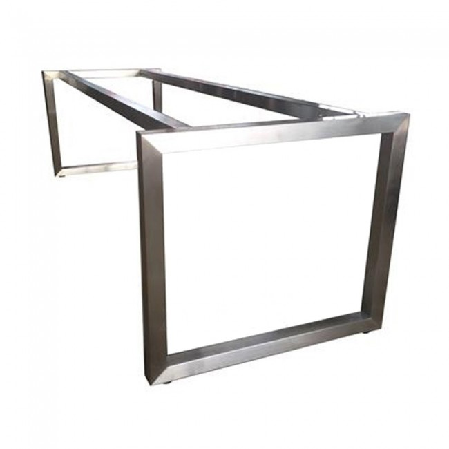 Incroyable Cathalina Modern Stainless Steel Table Base 80 X 240cm