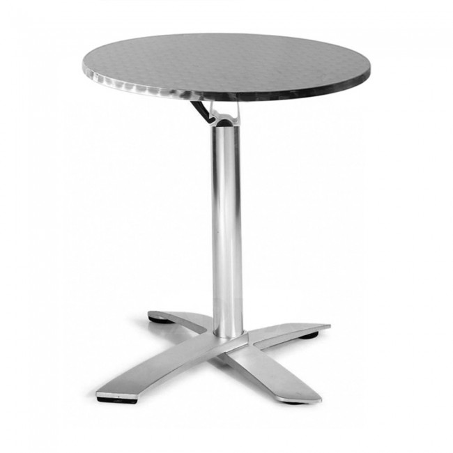 Rylie Round Folding Table Outdoor Stainless Steel