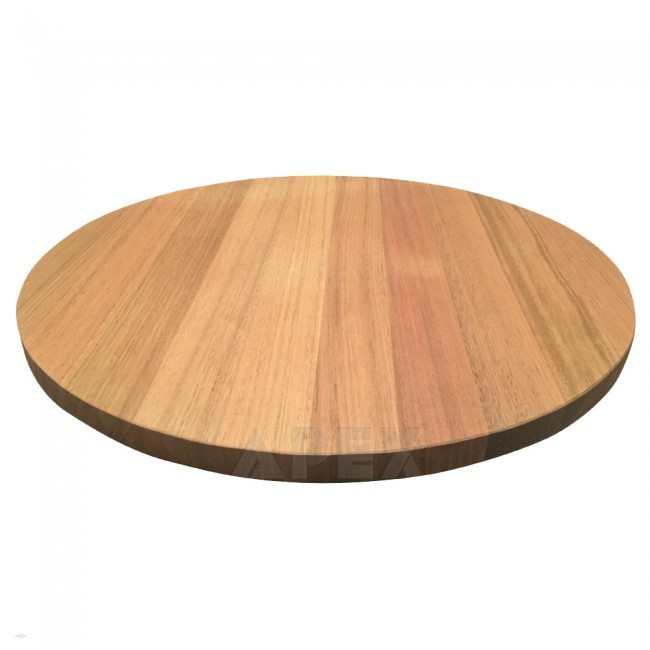 australian oak round table top natural finish apex