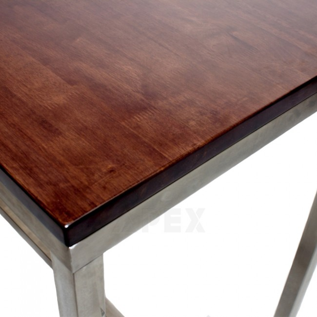 Solid Wood Table Top Walnut Apex