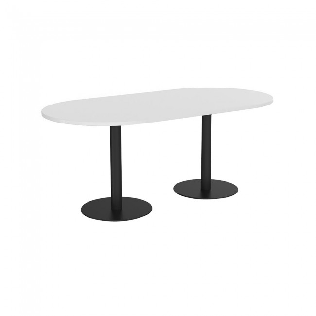 Titan Oval Office Meeting Table Pedestal Base