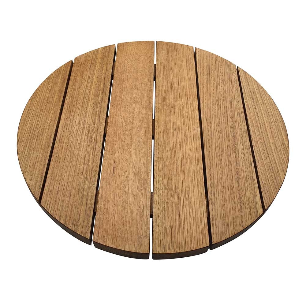 Australian Oak Round Outdoor Table Top Apex