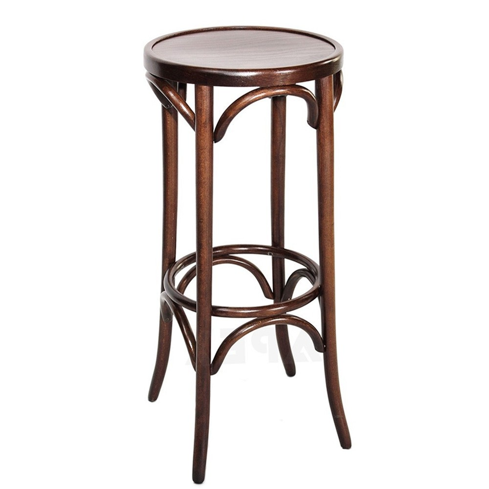 Genuine Bentwood Bar Stool By Michael Thonet Bst 9739 75