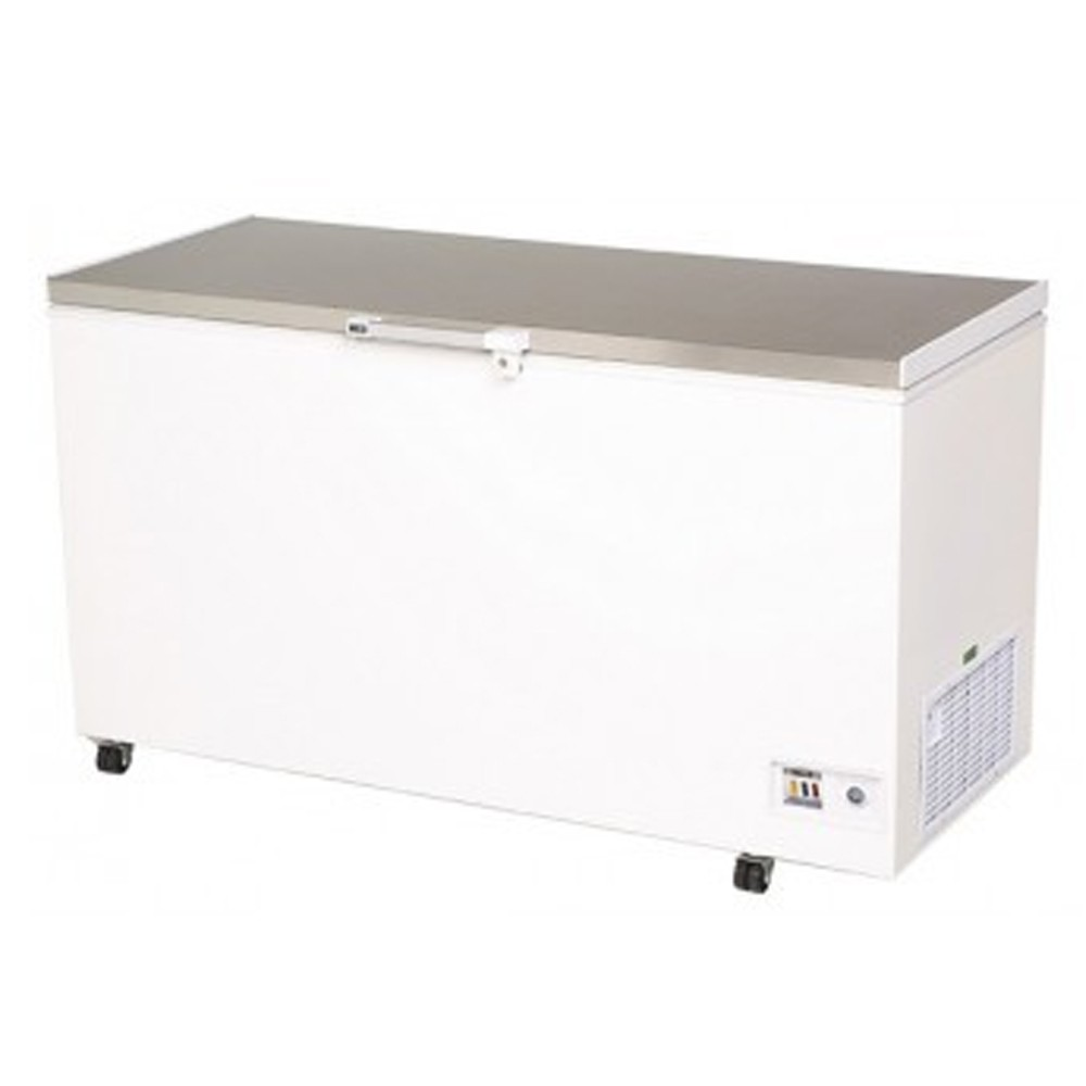 Bromic 492l Durable Pvc Chest Freezer With Stainless Steel