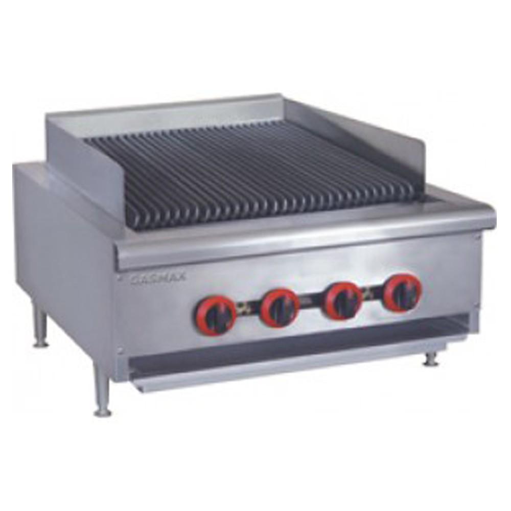Gasmax Lpg Gas 4 Burner Char Grill Cook Top Qr 24lpg Apex