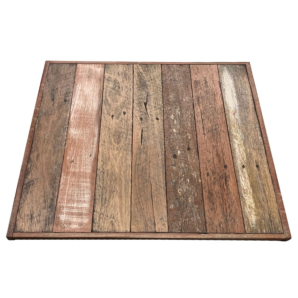 Industrial Cafe Table Top Australian Recycled Wood Apex
