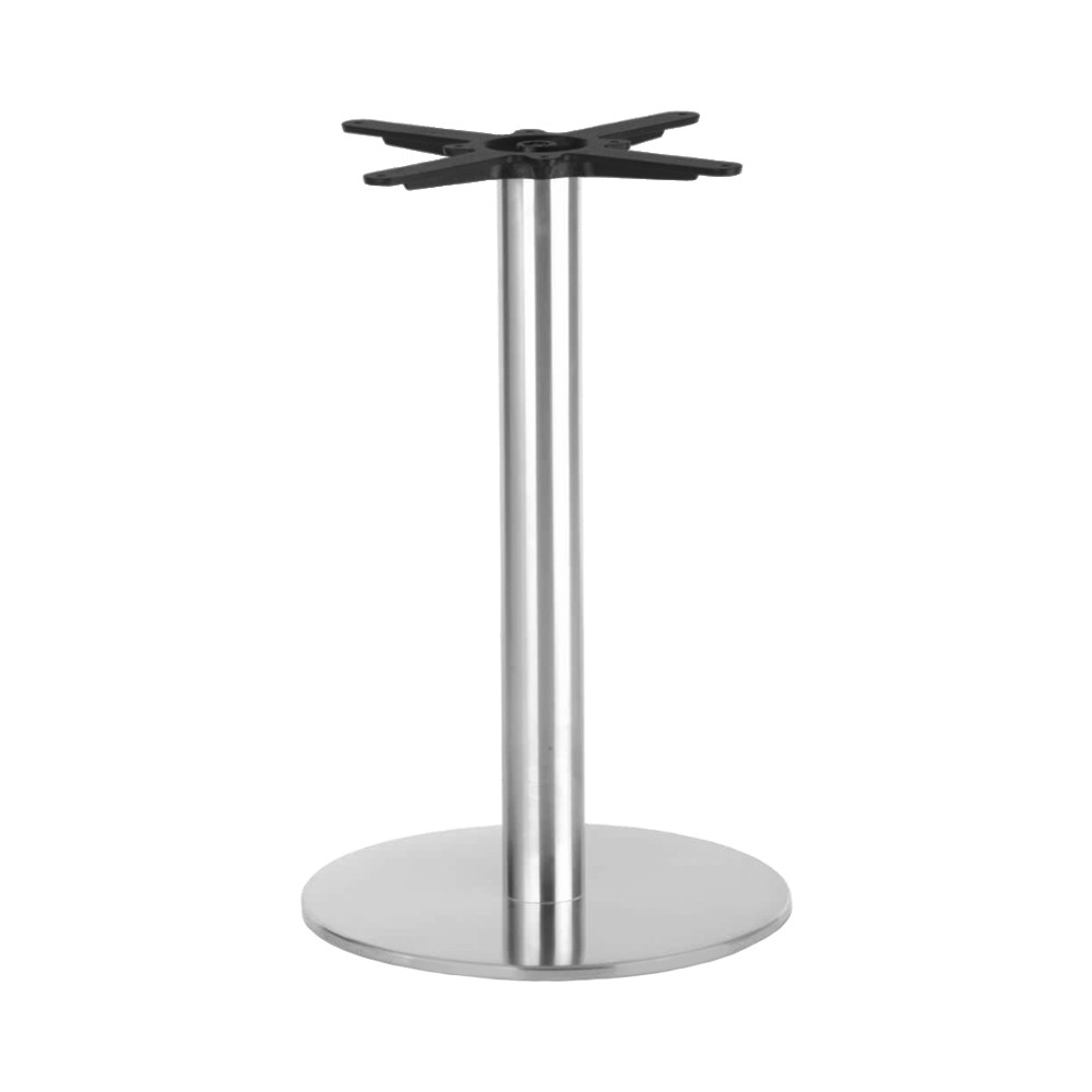 Jaquelina Stainless Steel Table Base Round