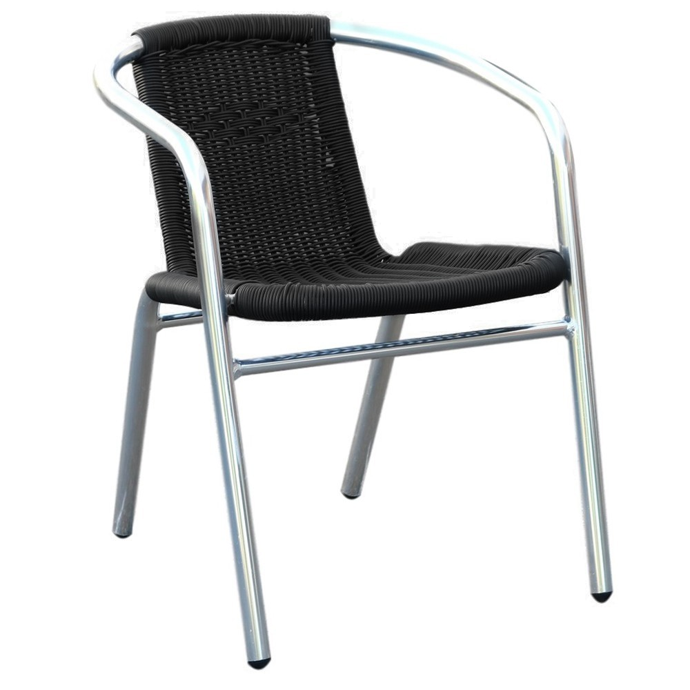 Tora Aluminium Wicker Outdoor Arm Chair Apex