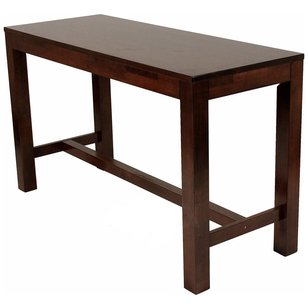 Zara Commercial Bar Height Counter Table Solid Wood Apex