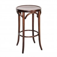 Genuine No 18 Bentwood Bar Stool With Back By Michael