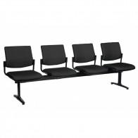Modern Waiting Room Public Beam Upholstered Seating