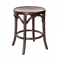 Genuine Bentwood Low Stool by Michael Thonet T-9739/46