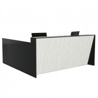 Angled Reception Desk