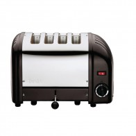 Dualit Classic Vario Toaster 4 Slice Black Matt CK555-A