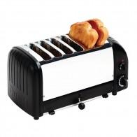 Dualit Classic Vario Toaster 6 Slice Black Matt CK556-A