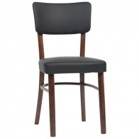Clio Upholstered Bentwood Dining Chair A-9601