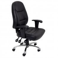 Ergonomic Office Chair Black PU