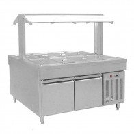 FED Refrigerated Buffet Bain Marie Centre Servery BS8C