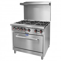 Gasmax 6 Burner with Oven Flame Failure S36(T)