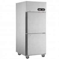 FED TROPICAL Thermaster 2×½ door SS Freezer SUF500