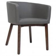 Larissa Tub Chair Walnut Legs