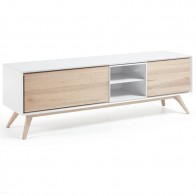 Adi TV Entertainment Unit Scandinavian Style Ash Wood