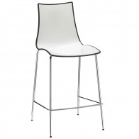 Letta Modern Counter Stool with Backrest 65cm