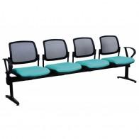 Mesh Back Beam Seating Custom Upholstery
