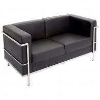 Modern Executive Lounge Two Seater Sofa