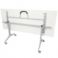 Mobile Flip-Top Folding Table