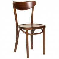 Genuine Bentwood Dining Chair A-1260 Walnut