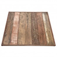 Industrial Cafe Table Top Australian Recycled Wood
