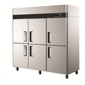 Austune 6 DR Fridge With Freezer KDU65-6