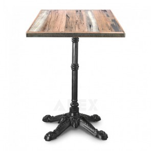 Abella Rustic Industrial Bistro Table
