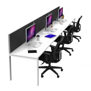Agility 3 Person Office Workstation