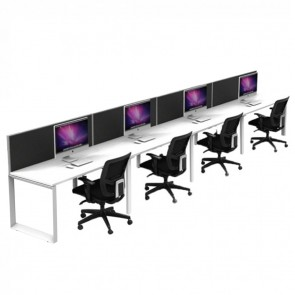 Agility 4 Person Office Workstation