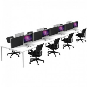 Agility 8 Person Office Workstation