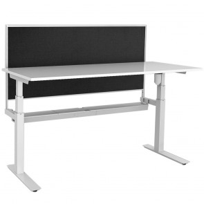 Agility Height Adjustable Office Desk with Screen