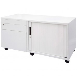 Agility Mobile Office Workstation Caddy Lockable