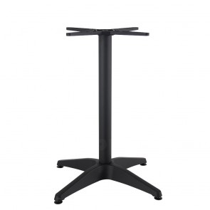 Aida Black Aluminium Table Base Black