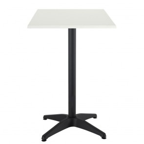 Aida Black Aluminium Indoor Outdoor Bar Height Table