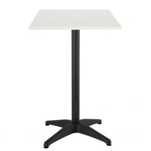 Aida Black Aluminium Indoor Outdoor Bar Height Table