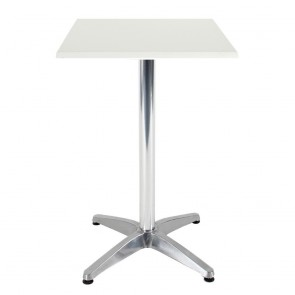 Aida Aluminium Indoor Outdoor Bar Height Pedestal Table
