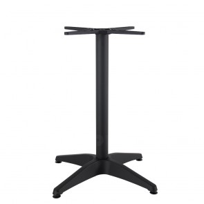 Aida Black Aluminium Table Base